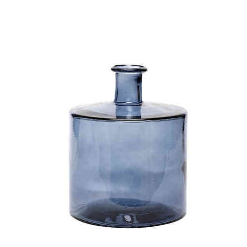 "Vase ""Cycle Round"" braun"