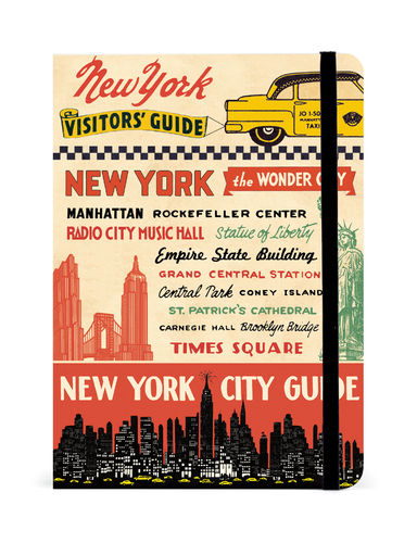 Cavallini Reise Notizbuch New York City