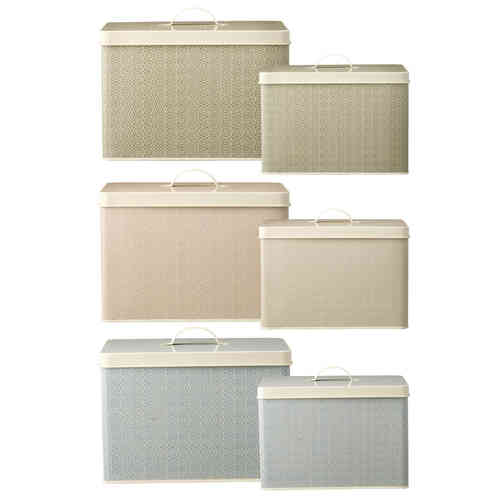 Bloomingville Dosen-Set beige