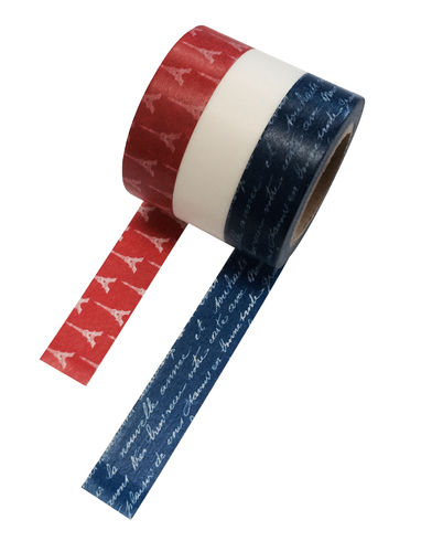 Masté Washi Tape Grand Eiffel 3er Set