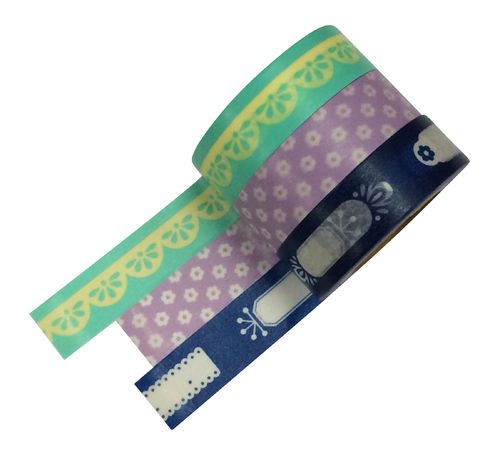 Masté Washi Tape Grand 3er Set