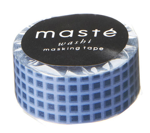 Masté Washi Tape Checkered