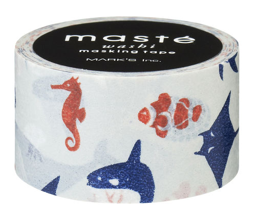 Masté Washi Tape Underwater