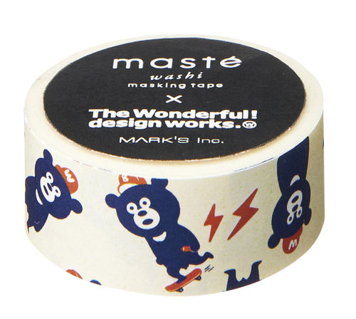 Masté Washi Tape Wonder Bear