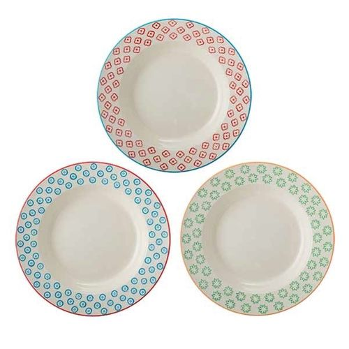 Bloomingville Suppenteller Emma 3er Set